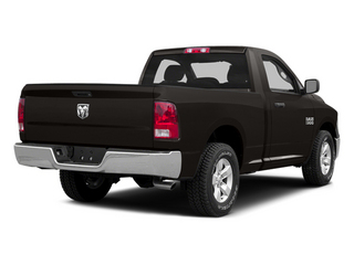Black Clearcoat 2014 Ram Truck 1500 Pictures 1500 Regular Cab Tradesman 4WD photos rear view