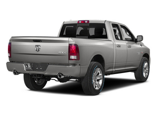 Bright Silver Metallic Clearcoat 2014 Ram 1500 Pictures 1500 Quad Cab Sport 4WD photos rear view