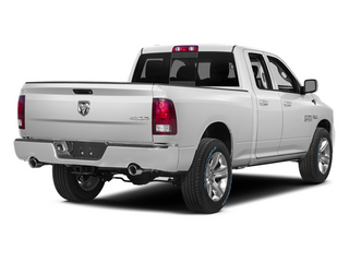 Bright White Clearcoat 2014 Ram 1500 Pictures 1500 Quad Cab Sport 4WD photos rear view