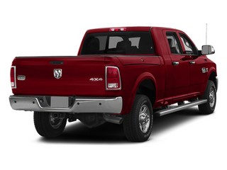 Flame Red Clearcoat 2014 Ram 2500 Pictures 2500 Mega Cab SLT 4WD photos rear view