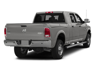 Bright Silver Metallic Clearcoat 2014 Ram 2500 Pictures 2500 Mega Cab SLT 4WD photos rear view