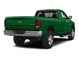 Bright Green 2014 Ram Truck 2500 Pictures 2500 Regular Cab Tradesman 4WD photos rear view