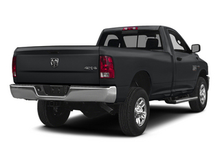 Granite Crystal Metallic Clearcoat 2014 Ram Truck 2500 Pictures 2500 Regular Cab Tradesman 4WD photos rear view