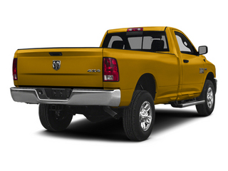 School Bus Yellow 2014 Ram Truck 2500 Pictures 2500 Regular Cab Tradesman 4WD photos rear view