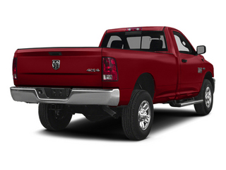 Flame Red Clearcoat 2014 Ram Truck 2500 Pictures 2500 Regular Cab Tradesman 4WD photos rear view