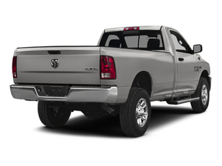 Bright Silver Metallic Clearcoat 2014 Ram Truck 2500 Pictures 2500 Regular Cab Tradesman 4WD photos rear view