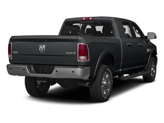 Granite Crystal Metallic Clearcoat 2014 Ram Truck 3500 Pictures 3500 Mega Cab Limited 2WD photos rear view
