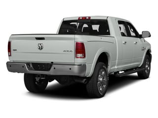 Bright White Clearcoat 2014 Ram 3500 Pictures 3500 Mega Cab Longhorn 2WD photos rear view