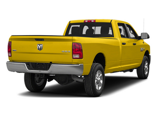 Yellow 2014 Ram Truck 3500 Pictures 3500 Crew Cab SLT 2WD photos rear view