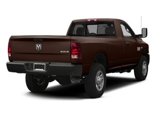 Western Brown 2014 Ram 3500 Pictures 3500 Regular Cab SLT 4WD photos rear view
