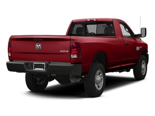 Flame Red Clearcoat 2014 Ram 3500 Pictures 3500 Regular Cab SLT 4WD photos rear view