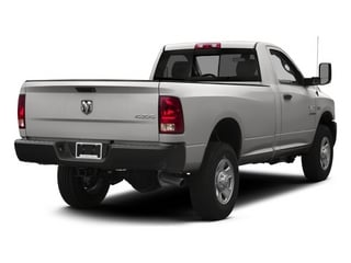 Bright Silver Metallic Clearcoat 2014 Ram 3500 Pictures 3500 Regular Cab SLT 4WD photos rear view