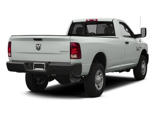 Bright White Clearcoat 2014 Ram 3500 Pictures 3500 Regular Cab SLT 4WD photos rear view