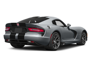 Billet Silver Metallic Clearcoat 2014 Dodge SRT Viper Pictures SRT Viper 2 Door Coupe photos rear view