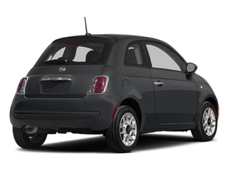 Granito Lucente (Granite Crystal) 2014 FIAT 500 Pictures 500 Hatchback 3D Pop I4 photos rear view