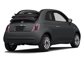 Granito Lucente (Granite Crystal) 2014 FIAT 500c Pictures 500c Convertible 2D Lounge I4 photos rear view