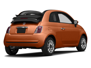 Rame (Copper) 2014 FIAT 500c Pictures 500c Convertible 2D Lounge I4 photos rear view