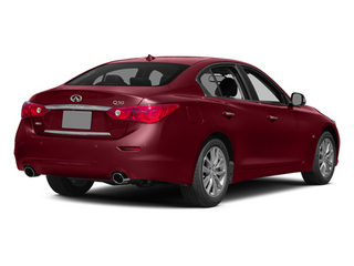 Venetian Ruby 2014 INFINITI Q50 Pictures Q50 Sedan 4D AWD V6 photos rear view