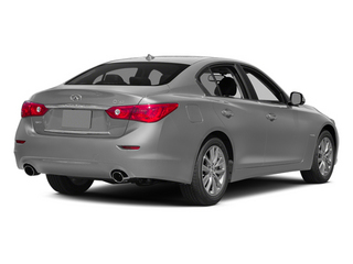 Liquid Platinum 2014 INFINITI Q50 Pictures Q50 Sedan 4D Premium V6 Hybrid photos rear view