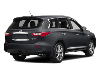 Diamond Slate 2014 INFINITI QX60 Pictures QX60 Utility 4D Hybrid AWD I4 photos rear view