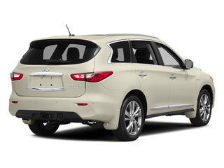 Moonlight White 2014 INFINITI QX60 Pictures QX60 Utility 4D Hybrid AWD I4 photos rear view