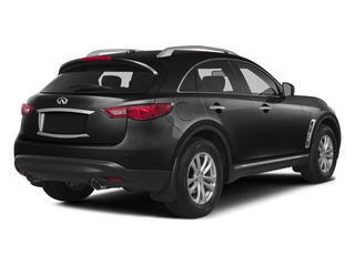 Black Obsidian 2014 INFINITI QX70 Pictures QX70 Utility 4D AWD V8 photos rear view