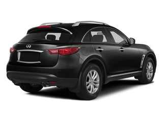 Black Obsidian 2014 INFINITI QX70 Pictures QX70 Utility 4D 2WD V6 photos rear view