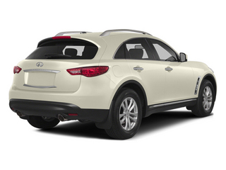 Moonlight White 2014 INFINITI QX70 Pictures QX70 Utility 4D AWD V6 photos rear view