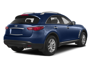 Iridium Blue 2014 INFINITI QX70 Pictures QX70 Utility 4D AWD V6 photos rear view