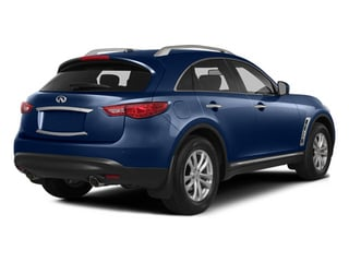 Iridium Blue 2014 INFINITI QX70 Pictures QX70 Utility 4D 2WD V6 photos rear view