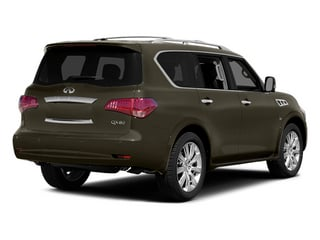 Smoky Quartz 2014 INFINITI QX80 Pictures QX80 Utility 4D 2WD V8 photos rear view