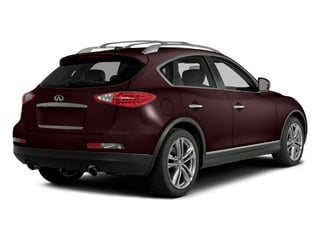 Midnight Garnet 2014 INFINITI QX50 Pictures QX50 Utility 4D Journey AWD V6 photos rear view