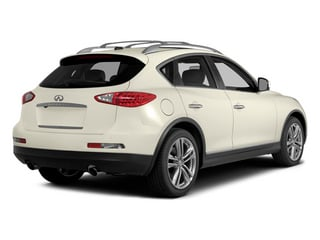 Moonlight White 2014 INFINITI QX50 Pictures QX50 Utility 4D Journey AWD V6 photos rear view