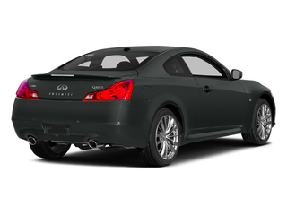 Graphite Shadow 2014 INFINITI Q60 Coupe Pictures Q60 Coupe 2D IPL V6 photos rear view