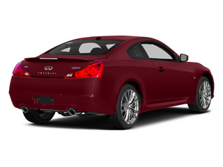 Venetian Ruby 2014 INFINITI Q60 Coupe Pictures Q60 Coupe 2D Sport V6 photos rear view