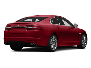 Italian Racing Red 2014 Jaguar XF Pictures XF Sedan 4D XFR-S V8 Supercharged photos rear view