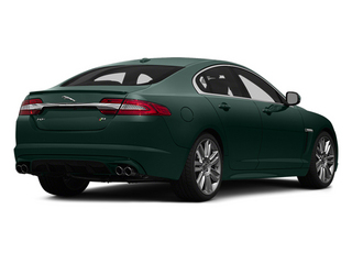 British Racing Green 2014 Jaguar XF Pictures XF Sedan 4D XFR V8 Supercharged photos rear view
