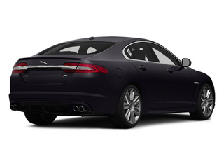 Ultimate Black Metallic 2014 Jaguar XF Pictures XF Sedan 4D XFR-S V8 Supercharged photos rear view