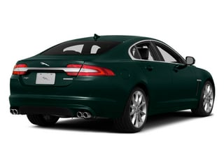 British Racing Green 2014 Jaguar XF Pictures XF Sedan 4D AWD V6 Supercharged photos rear view