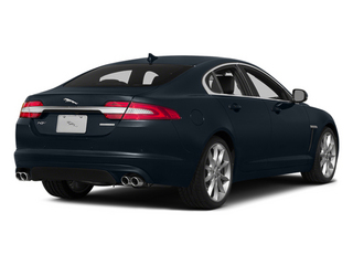 Dark Sapphire Metallic 2014 Jaguar XF Pictures XF Sedan 4D V6 Supercharged photos rear view