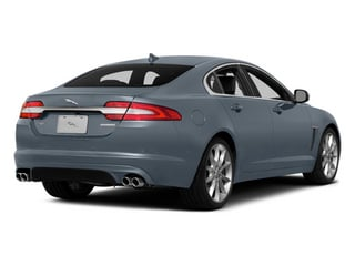 Satellite Gray Metallic 2014 Jaguar XF Pictures XF Sedan 4D V6 Supercharged photos rear view