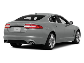 Rhodium Silver Metallic 2014 Jaguar XF Pictures XF Sedan 4D V6 Supercharged photos rear view