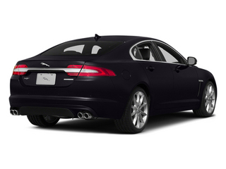 Ultimate Black Metallic 2014 Jaguar XF Pictures XF Sedan 4D V6 Supercharged photos rear view