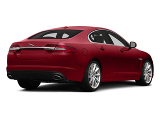 Italian Racing Red 2014 Jaguar XF Pictures XF Sedan 4D V8 Supercharged photos rear view