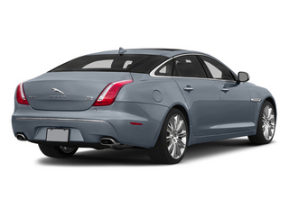 Satellite Grey Metallic 2014 Jaguar XJ Pictures XJ Sedan 4D L Portolio V6 photos rear view
