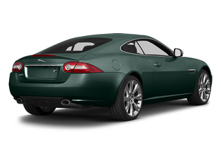 British Racing Green 2014 Jaguar XK Pictures XK Coupe 2D V8 photos rear view