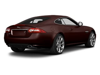 Caviar Metallic 2014 Jaguar XK Pictures XK Coupe 2D V8 photos rear view