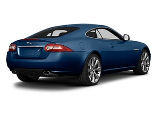 Indigo Blue Metallic 2014 Jaguar XK Pictures XK Coupe 2D V8 photos rear view