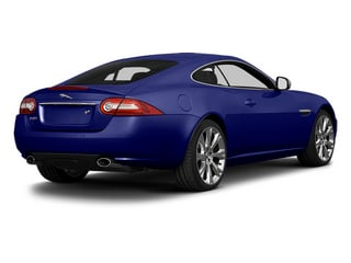 Dark Sapphire Metallic 2014 Jaguar XK Pictures XK Coupe 2D V8 photos rear view
