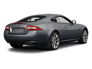 Lunar Gray Metallic 2014 Jaguar XK Pictures XK Coupe 2D V8 photos rear view